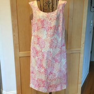 beautiful Sigrid Olsen floral print shift DRESS
